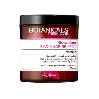 BOTANICALS BY LOREAL PARIS Geranium Radiance Remedy Masque 200ml