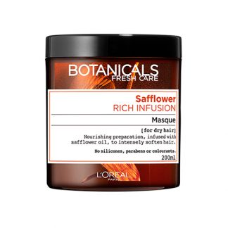 BOTANICALS BY LOREAL PARIS Safflower Rich Infusion Masque 200ml