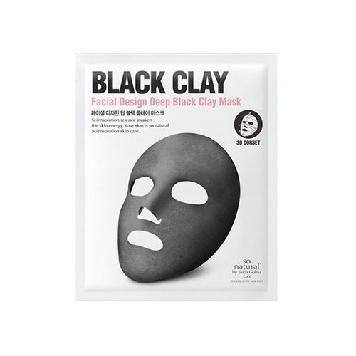 SO NATURAL Facial Design Sheet Mask 5pcs