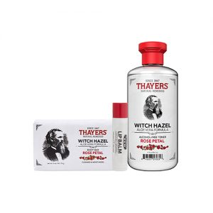 THAYERS Witch Hazel Classic Rose 3 Items Kit