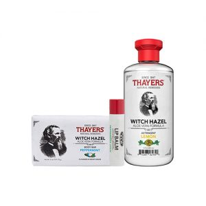 THAYERS Witch Hazel Refreshing Peppermint 3 Items Kit