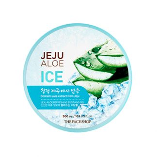 THE FACE SHOP Jeju Aloe Ice Refreshing Soothing Gel 300ml