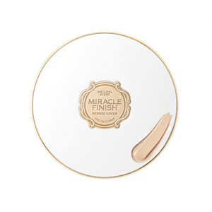 THE FACE SHOP Miracle Finish CC Intense Cover Cushion SPF50 PA+++ 15g