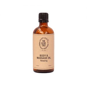 THE OLIVE TREE Relaxing Body & Massage Oil 100ml