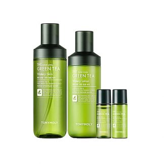 TONY MOLY The Chok Chok Green Tea Skin Care 4 Items Set