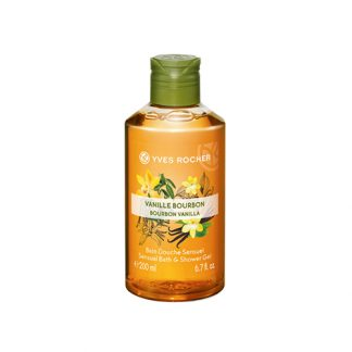 YVES ROCHER Plaisir Nature Sensual Bath & Shower Gel Bourbon Vanilla 200ml