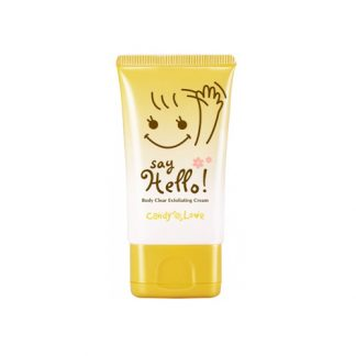 CANDY LOVE Say Hello! Body Clear Exfoliating Cream 60ml