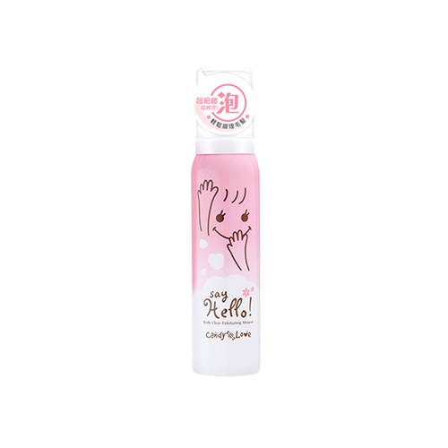 CANDY-LOVE-Say-Hello!-Body-Clear-Exfoliating-Mousse-100ml