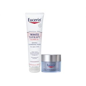 EUCERIN Whitening Therapy Foam And Hyaluron-Filler Night 2 Item Set
