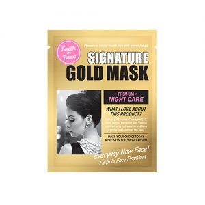 FAITH IN FACE Signature Gold Mask Premium Night Care 1pc