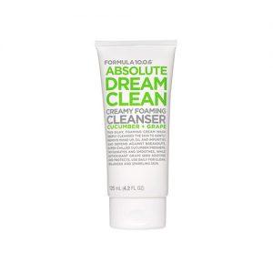 FORMULA 10 0 6 Absolute Dream Clean Creamy Foaming Cleanser 125ml
