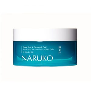 NARUKO Apple Seed & Tranexamic Acid Black Spots and Lines Defying Night Gelly 80g