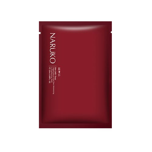 NARUKO Raw Jobs Tears Supercritical CO2 Pore Minimizing & Brightening Mask 10pcs