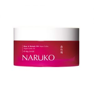 NARUKO Rose & Botanic HA Aqua Cubic Night Gelly EX 80g