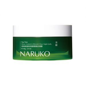 NARUKO Tea Tree Shine Control & Blemish Clear Night Gelly 80g