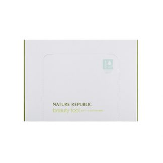 NATURE REPUBLIC Beauty Tool Soft 1/2 Cotton Wipe 120pcs