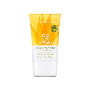NATURE REPUBLIC California Aloe Sunblock Daily Moisture SPF50 50ml