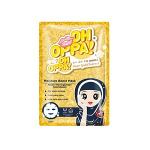 OH OPPA Pure Gold Extract Moisture Boost Mask 4pcs