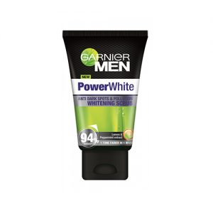 GARNIER Men Power White Whitening Scrub 50ml