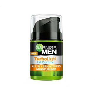 GARNIER Men Turbolight Oil Control All In 1 Brightening Moisturiser 40ml