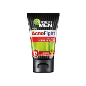 GARNIER Men Acno Fight Scrub-in Foam 100ml