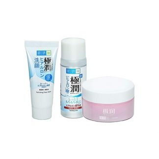 HADA LABO Hydrating Moist 123 Trial 3 Item Set