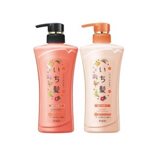KRACIE Ichikami Moisturizing Shampoo & Conditioner Jumbo 2 Item Set