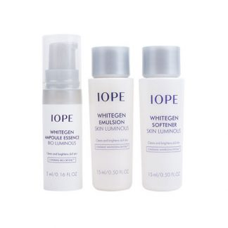 IOPE Whitegen Travel 3 Item Kit
