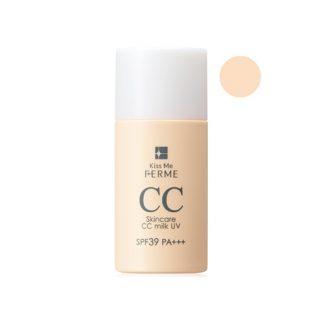 KISS ME FERME Ferme Skincare CC Milk UV SPF39 PA+++ 30ml