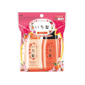 KRACIE Ichikami Shampoo & Conditioner 2 Item Mini Set