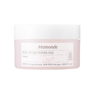 MAMONDE Rose Water Toner Pad 40pcs