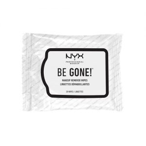 NYX Be Gone! Makeup Remover Wipes 20pcs