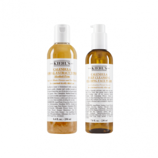 KIEHLS Oily Skin Basic Cleansing 2 Item Set