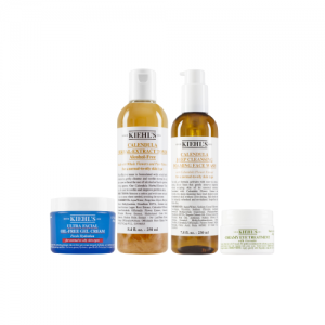 KIEHLS Intermediate Oil And Eye Treatment 4 Item Set