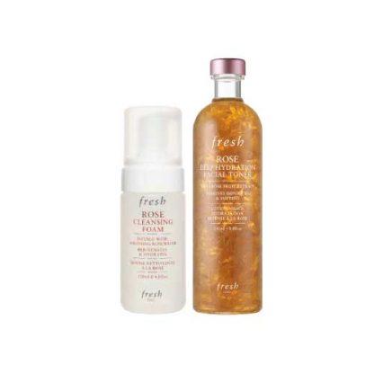 FRESH Rose Dry Skin Basic 2 Item Set