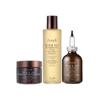 FRESH Black Tea Moisturizing Treatment 3 Item Set