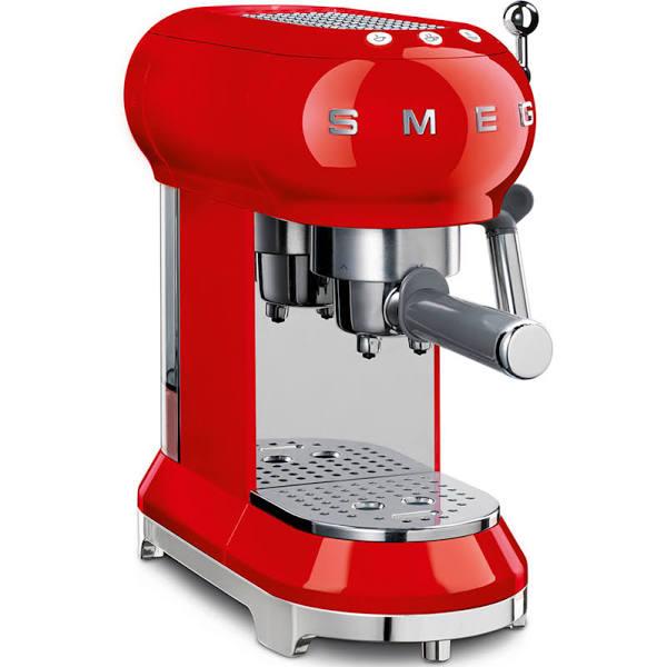 Smeg ECF01RDEU espressomaskin - Röd