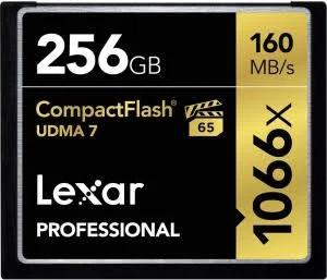 Lexar Professional UDMA 7 1066x CompactFlash Card 256GB