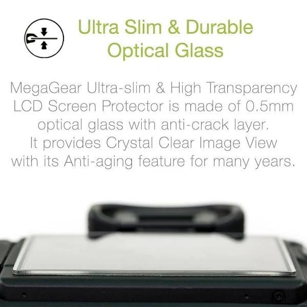 MegaGear Canon PowerShot G5 X Mark II Camera LCD Optical Screen Protector