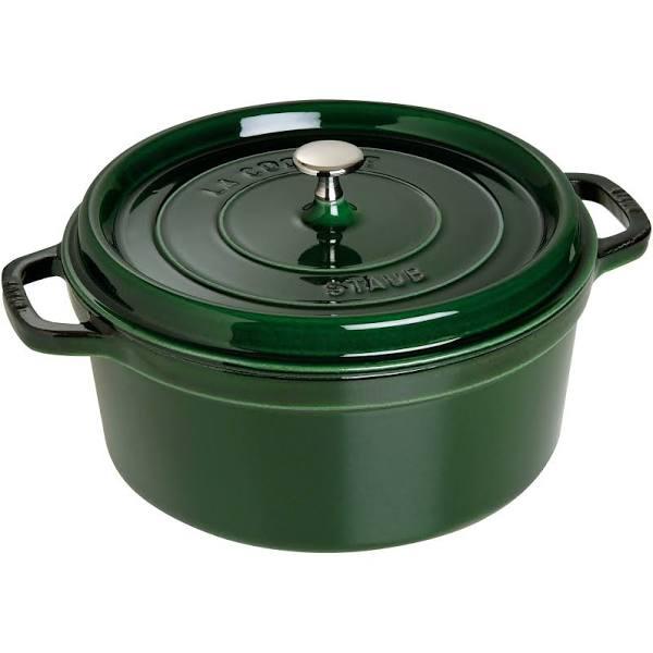 Staub - Gryta 6,7 L rund Grön