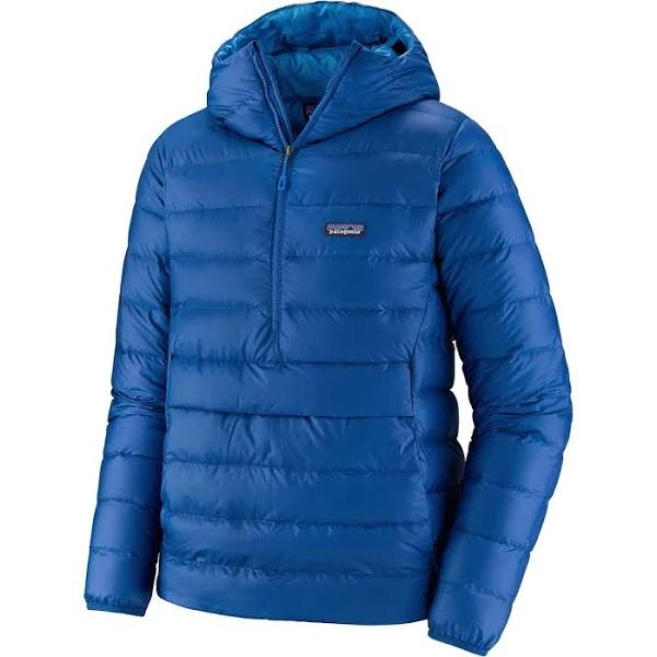 Patagonia M' S Down Sweater Hoody P/o - Superior Blue - Herr - S