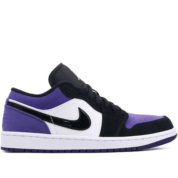 Nike Air Jordan 1 Low Court Purple Basketball Shoes/Sneakers 553558-125 (Size: US 8)