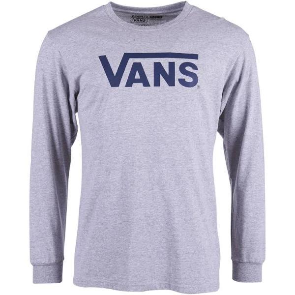 Vans Classic Ls, Athletic Heather/Poseidon, XXL, T-Shirts Långärmad t-shirt