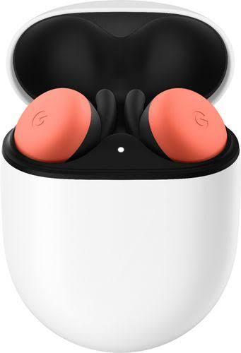 Google - Pixel Buds True Wireless In-Ear Headphones - Oh So Orange - GA01471-US - 193575003344