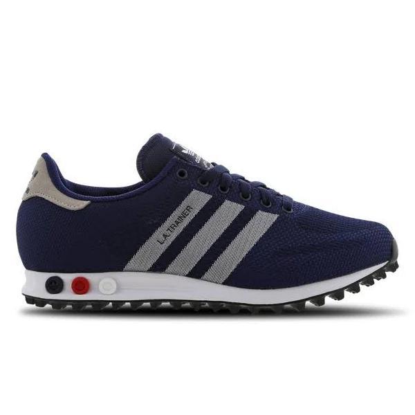 adidas LA Trainer Weave - Men Shoes Blue Size 40 2/3 at Foot Locker