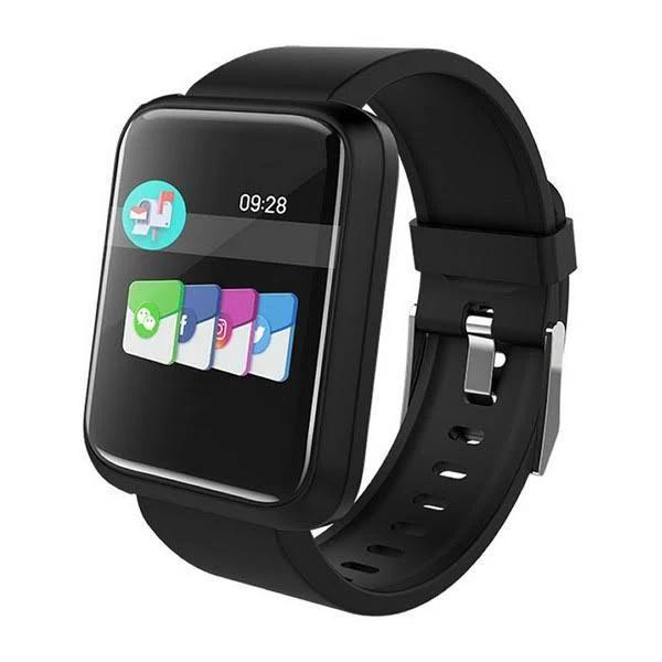 """Smartwatch med stegräknare BRIGMTON Bsport 17 1,3"""" Bluetooth 4.0"""