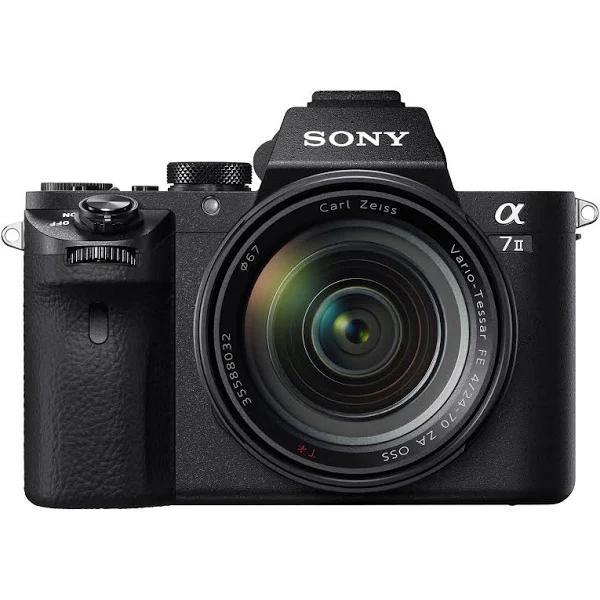 Sony A7 II kamerahus + Zeiss FE 24-70/4 ZA OSS