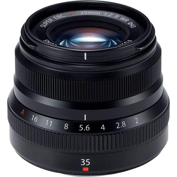 Fujifilm FUJINON XF 35mm f/2 R WR (Svart)