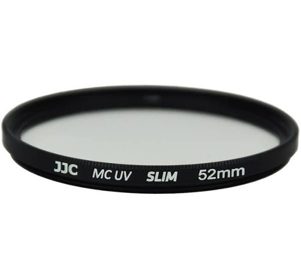 JJC UV-filter Slim med Multicoating (52mm)