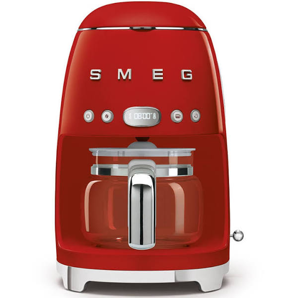 SMEG DCF02RDEU Kaffebryggare, Röd